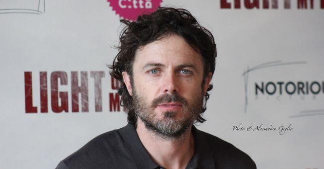 Casey Affleck a Roma per Light of my life